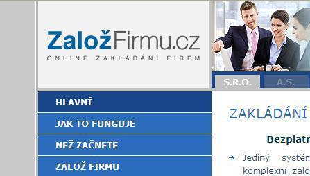 Portál ZaložFirmu.cz