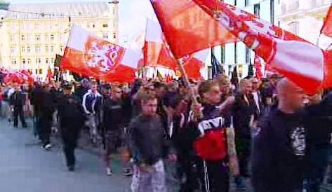 Pochod radikálů Brnem