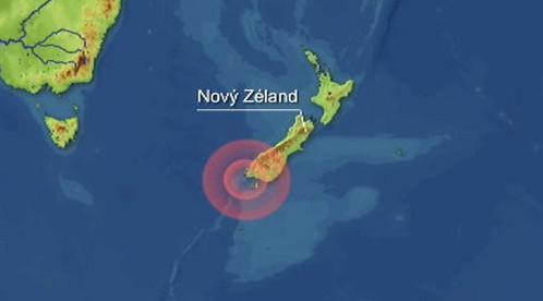 Zemětřesení u Nového Zélandu