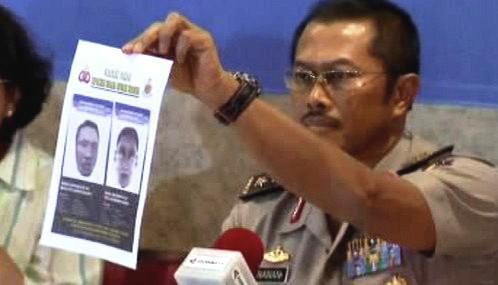 Indonéská policie zveřejnila portréty atentátníků