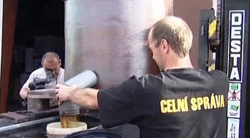 Likvidace zabaveného alkoholu