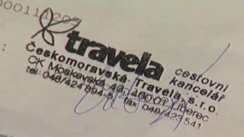 Razítko CK Travela