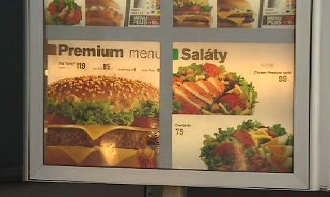 Nabídka společnosti McDonald\'s