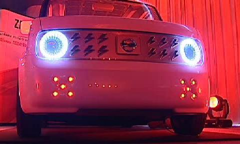 Hybridní vůz z dílny Nissanu