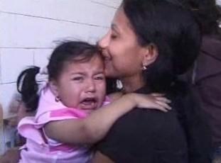 Romská matka s dítětem
