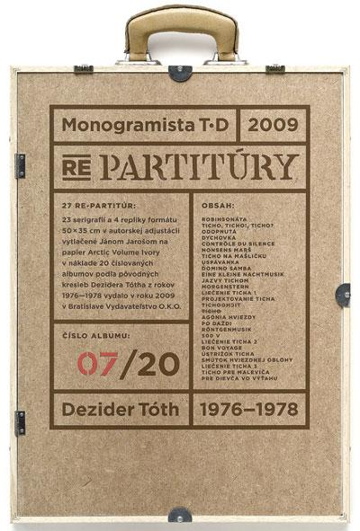 Dezidér Tóth: Partitury