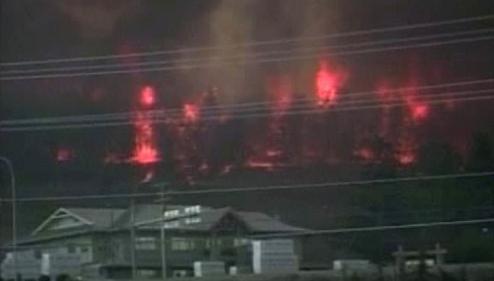 Požár v Kanadě