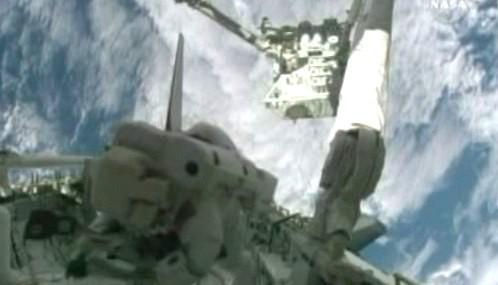 Astronaut ve volném prostoru