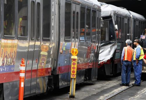 Srážka vlaků v San Francisku