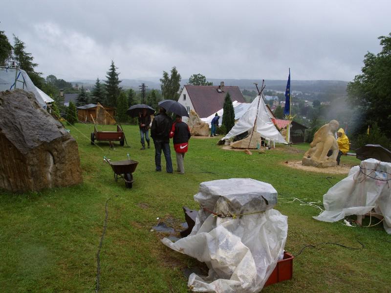 Mezinárodní sochařské sympozium - Vejprty 2009