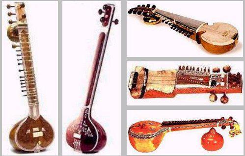 Indické hudební nástroje