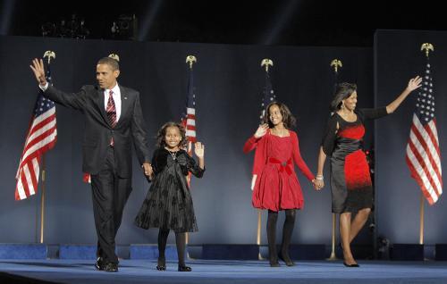 Rodina prezidenta USA Baracka Obamy