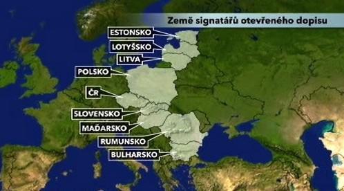 Země signatářů dopisu