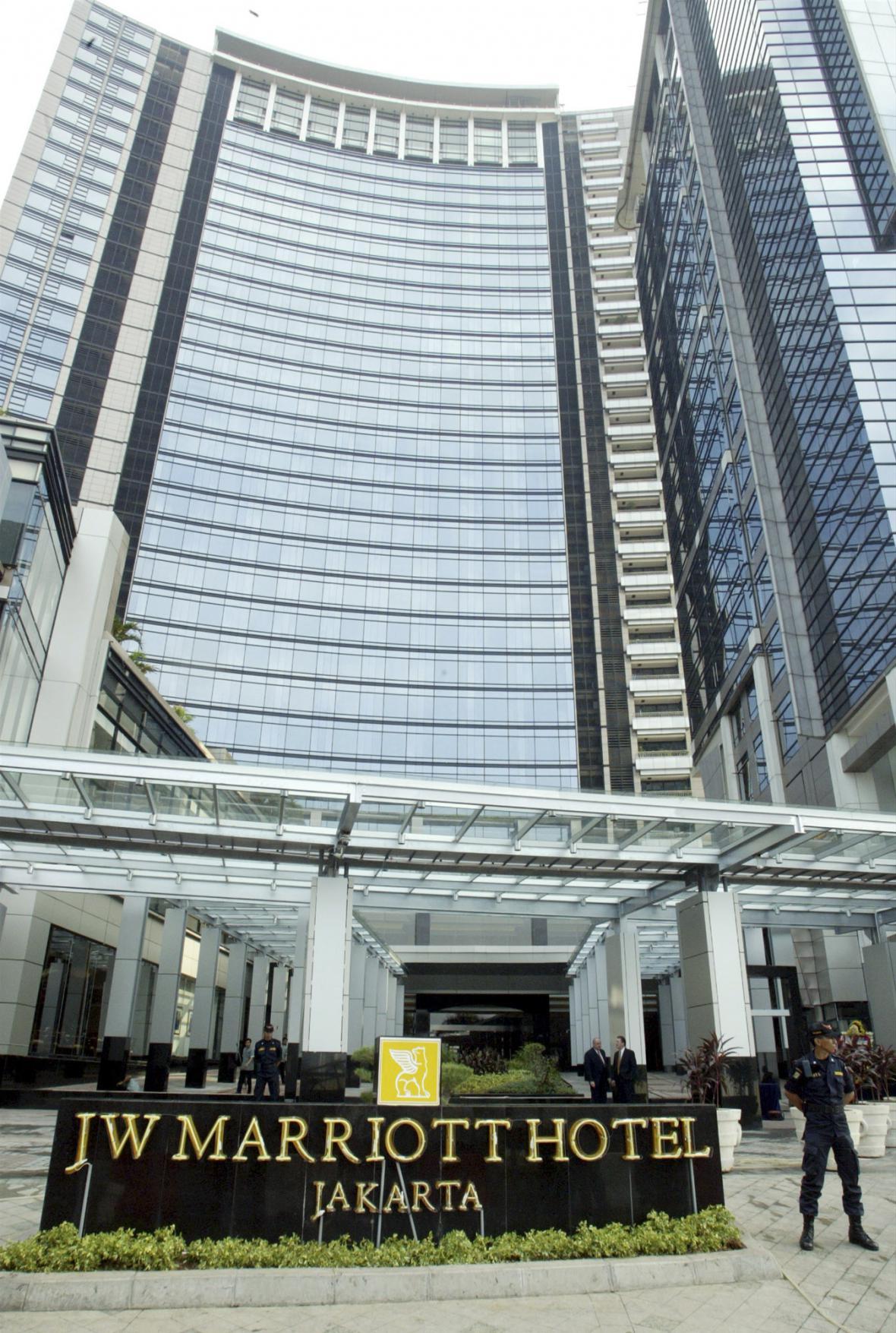 Hotel Marriott v Jakartě