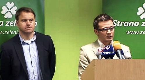 Martin Bursík a Ondřej Liška