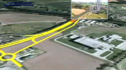 Simulace dálnice D3