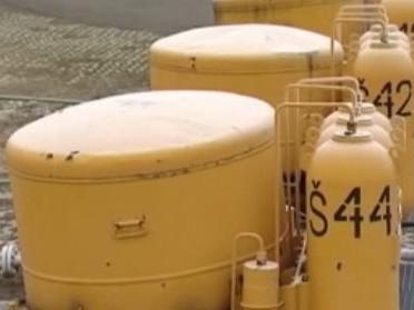 Zásobníky na zemní plyn