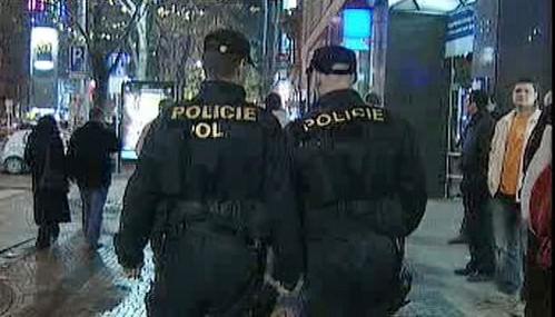 Policisté na obchůzce