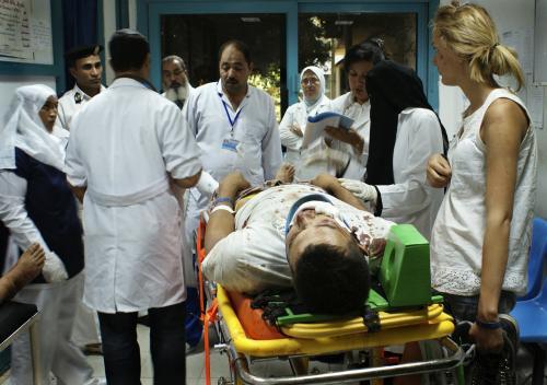 Oběť nehody autobusu v Egyptě