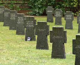 Hroby německých vojáků
