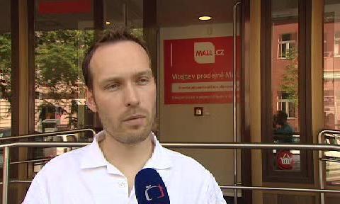 Ředitel webu mall.cz Marek Liška