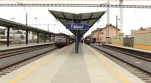 Zrekonstruovaná stanice Tábor