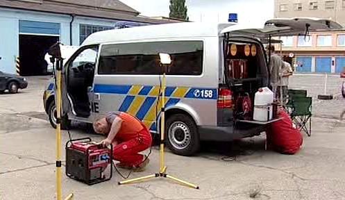 Mobilní policejní stanice
