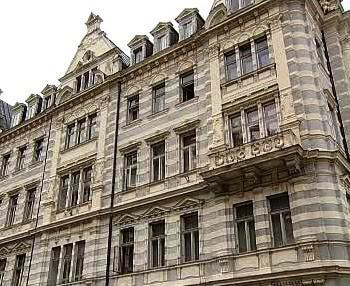 Dům v centru Karlových Varů