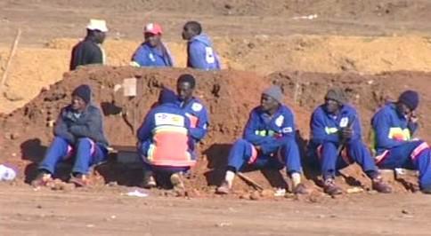 Stávka dělníků v JAR