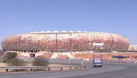 Fotbalový stadion v JAR