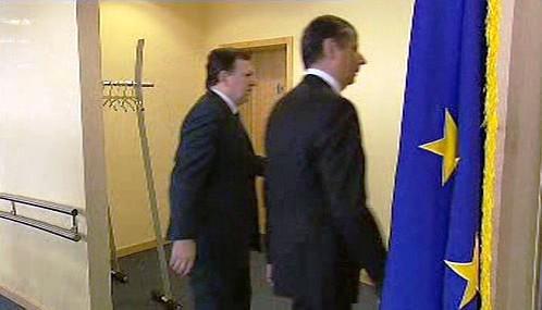 José Barroso a Jan Fischer