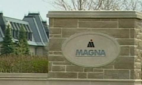 Logo společnosti Magna