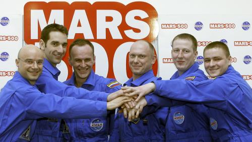 Členové týmu Mars 500