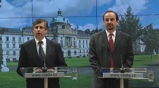 Jan Fischer a Jan Kohout