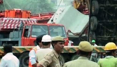 Zřícení jeřábu v Dillí