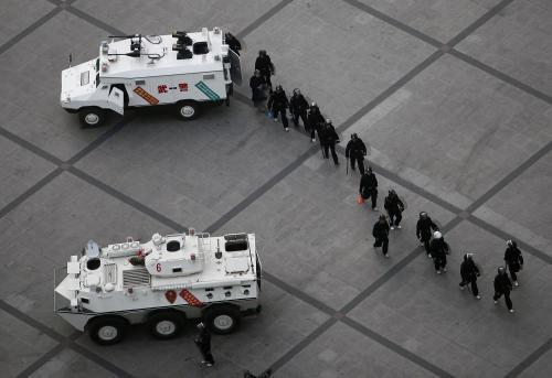 Čínské bezpečnostní složky v Urumči