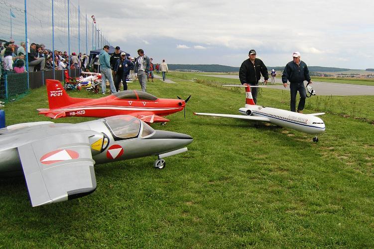 Letecké modely - Hluboké Mašůvky