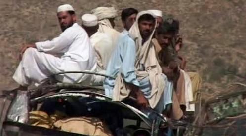 Pákistánští uprchlíci se vracejí domů