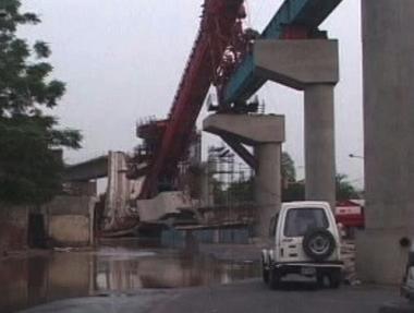Zřícený most