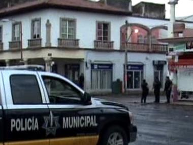 Mexická policejní stanice