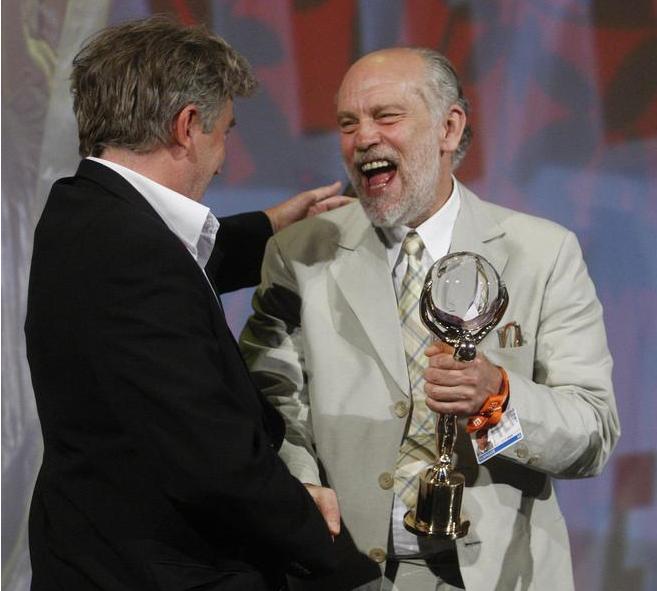 Frédéric Dumont (Anděl u moře) a John Malkovich