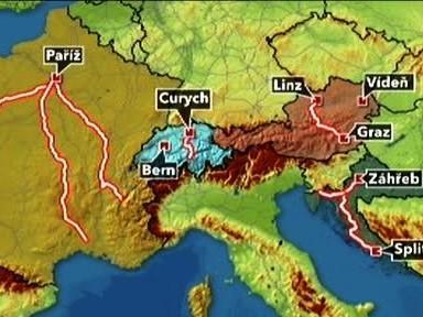 Zácpy v Evropě