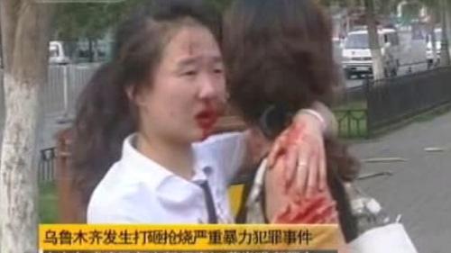 Nepokoje na západě Číny
