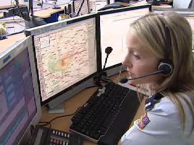 Dispečink hasičské záchranné služby