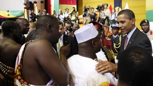 Barack Obama v Ghaně
