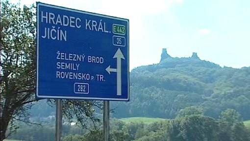 Silnice přes Český ráj