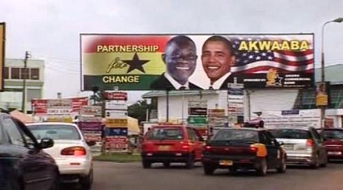 Ghana vítá Obamu
