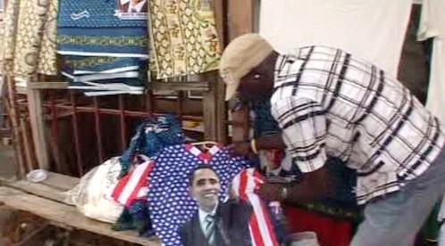 Tričko s podobiznou Baracka Obamy