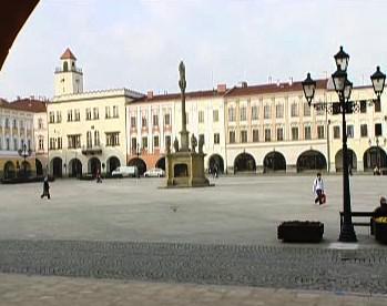 Masarykovo náměstí v Novém Jičíně