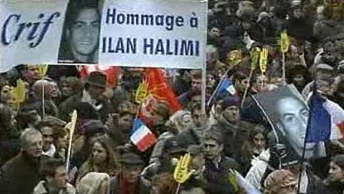 Pochod za mučeného Ilama Halimiho